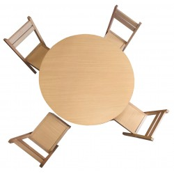 Kids Round Table and Chairs - Beech Wood for sale online in UK London DA18 4AJ