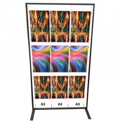 Poster Display Stand A3