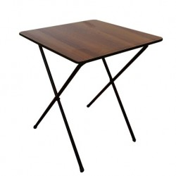 Folding Exam Desk / Table for School / College / University walnut