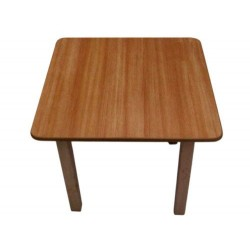 Solid wood red blue white walnut beech color study table for kids in london