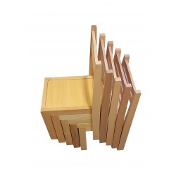 Kids Stackable Chair - Wooden