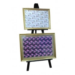 Wooden Double Display Easel