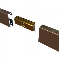 Clip-Rail Straight Connector