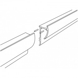Paper Rail Connecting Pins