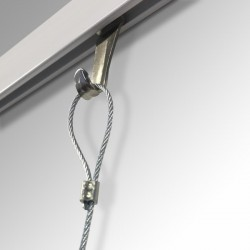 Picture hanger for Cliprail can hold 10 kg load